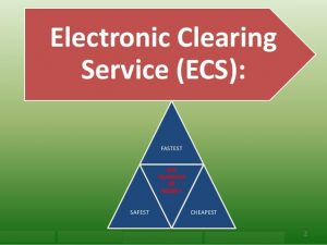 Electronic Clearing Service, ECS