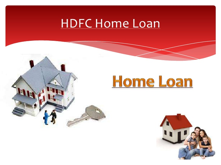 HDFC Home Loan New Interest Rates(January 2017)