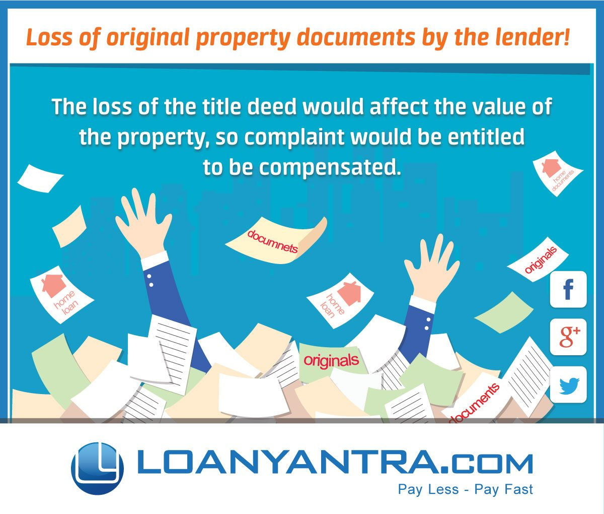 Banks Liable for Loss of Original Property Documents