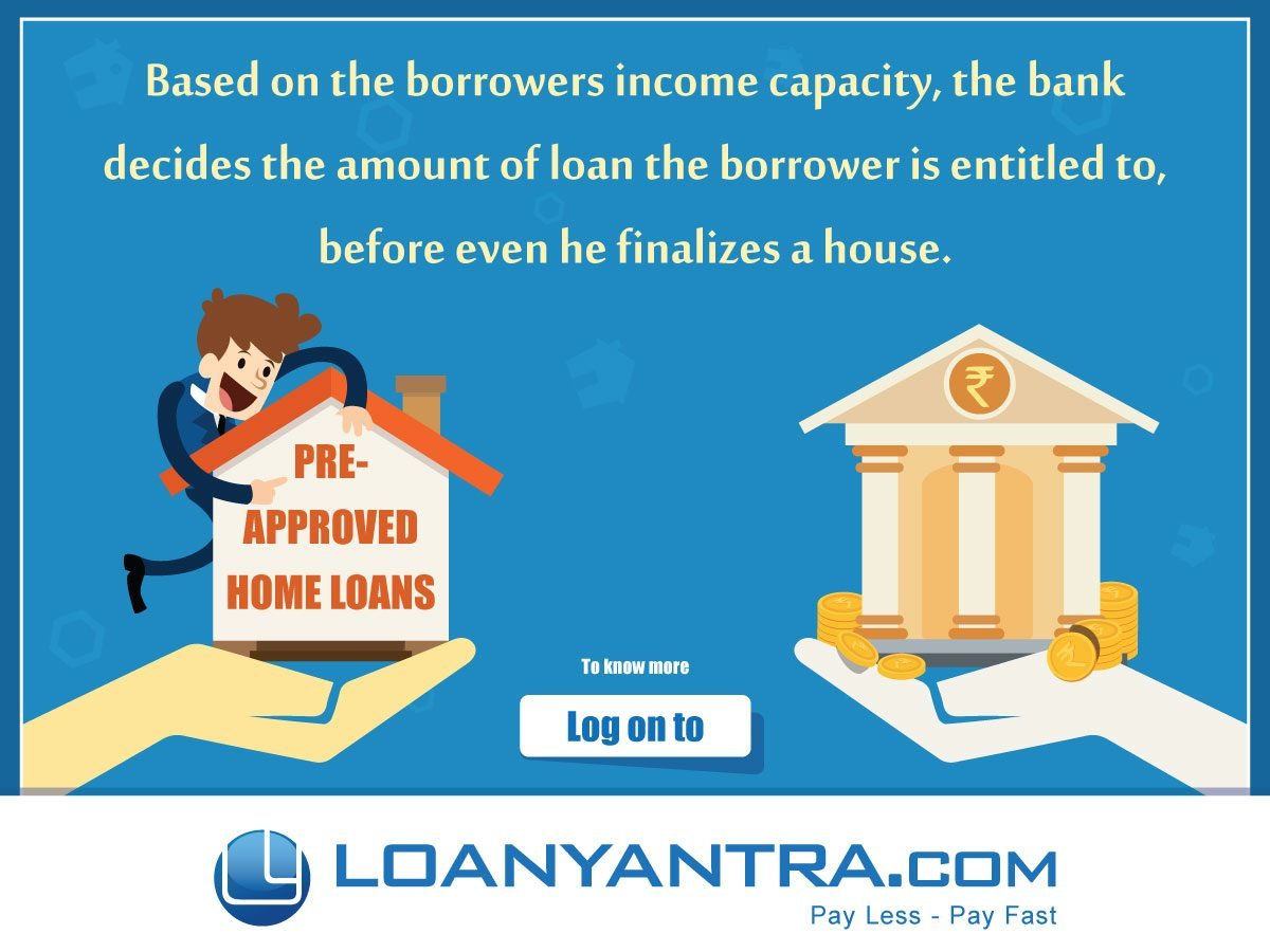 What Is Pre Approved Home Loan Loanyantra Blog
