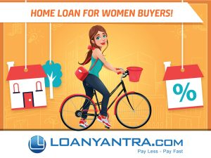 Home loan for women borrowers