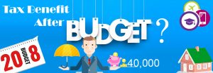 Budget and standard deduction