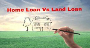 Plot loan and home loan